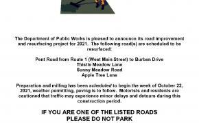 Branford Road Improvement & Resurfacing for Fall 2021