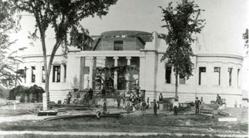 Construction of the Library began in 1894 and took three years. Photo by the Stoddard Studio