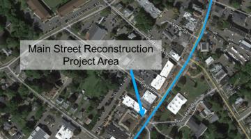 Main Street Reconstruction Project Area