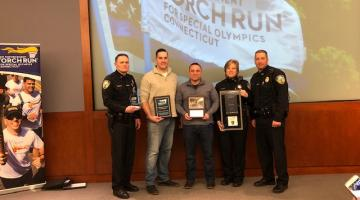 Branford Police Department has recently been recognized as the top fund raising department in the State